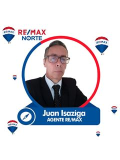 Agente Inmobiliario - Juan de Jesus Isaziga Bello - RE/MAX Norte