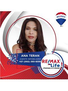 Agente Inmobiliario - Ana Miriam Teran De Correa - RE/MAX Life