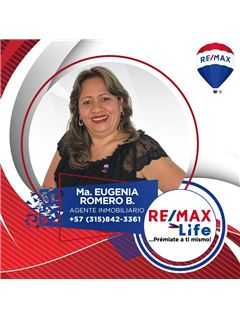 Agente Inmobiliario - María Eugenia Romero Bustos - RE/MAX Life
