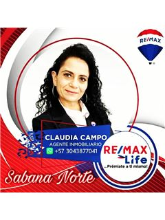 Agente Inmobiliario - Claudia Liliana Campo Arguelles - RE/MAX Life