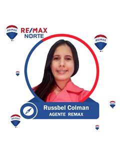 Agente Inmobiliario - Russbel Dairys Colman Castellano - RE/MAX Norte