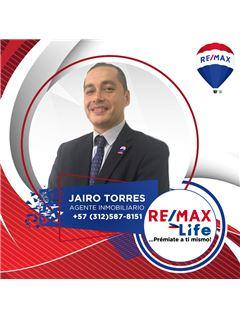 Agente Inmobiliario - Jairo Enrique Torres Campos - RE/MAX Life