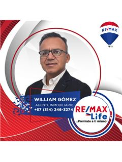 Agente Inmobiliario - William Alberto Gómez Solórzano - RE/MAX Life