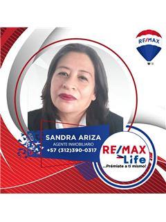 Agente Inmobiliario - Sandra Maria Ariza Ibañez - RE/MAX Life