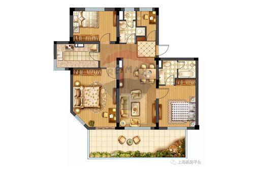 Condo/Apartment - For Sale - Changning,  Gubei, 华园大厦, - 21 - 808009007-13