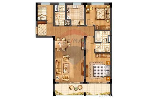Condo/Apartment - For Sale - Changning,  Gubei, 华园大厦, - 20 - 808009007-13