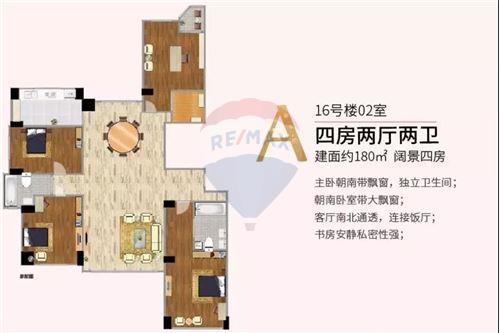 Condo/Apartment - For Sale - Putuo,  Zhenru, 高尚领域, - 17 - 808009007-16