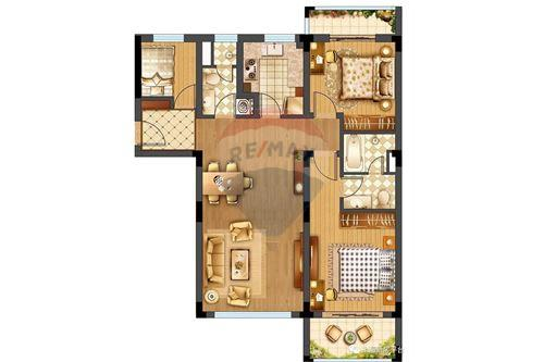 Condo/Apartment - For Sale - Changning,  Gubei, 华园大厦, - 19 - 808009007-13