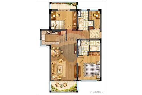 Condo/Apartment - For Sale - Changning,  Gubei, 华园大厦, - 18 - 808009007-13