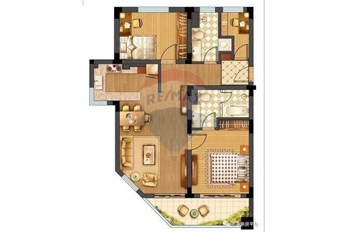 Condo/Apartment - For Sale - Changning,  Gubei, 华园大厦, - 15 - 808009007-13