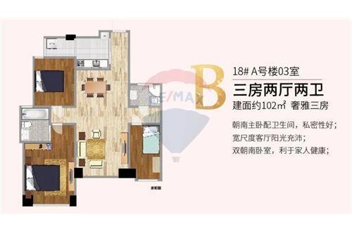 Condo/Apartment - For Sale - Putuo,  Zhenru, 高尚领域, - 16 - 808009007-16