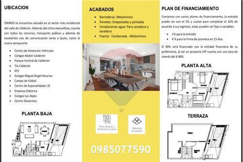 Inversión - De Venta - Calderon (Carapungo), Ecuador - 28 - 890091417-14