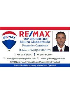 Giannattasio Mauro – RE/MAX Top Properties – Kathu, Phuket